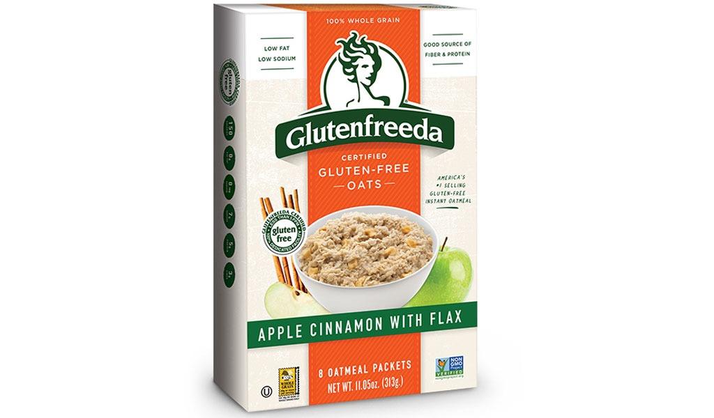 glutenfreeda apple cinnamon with flax