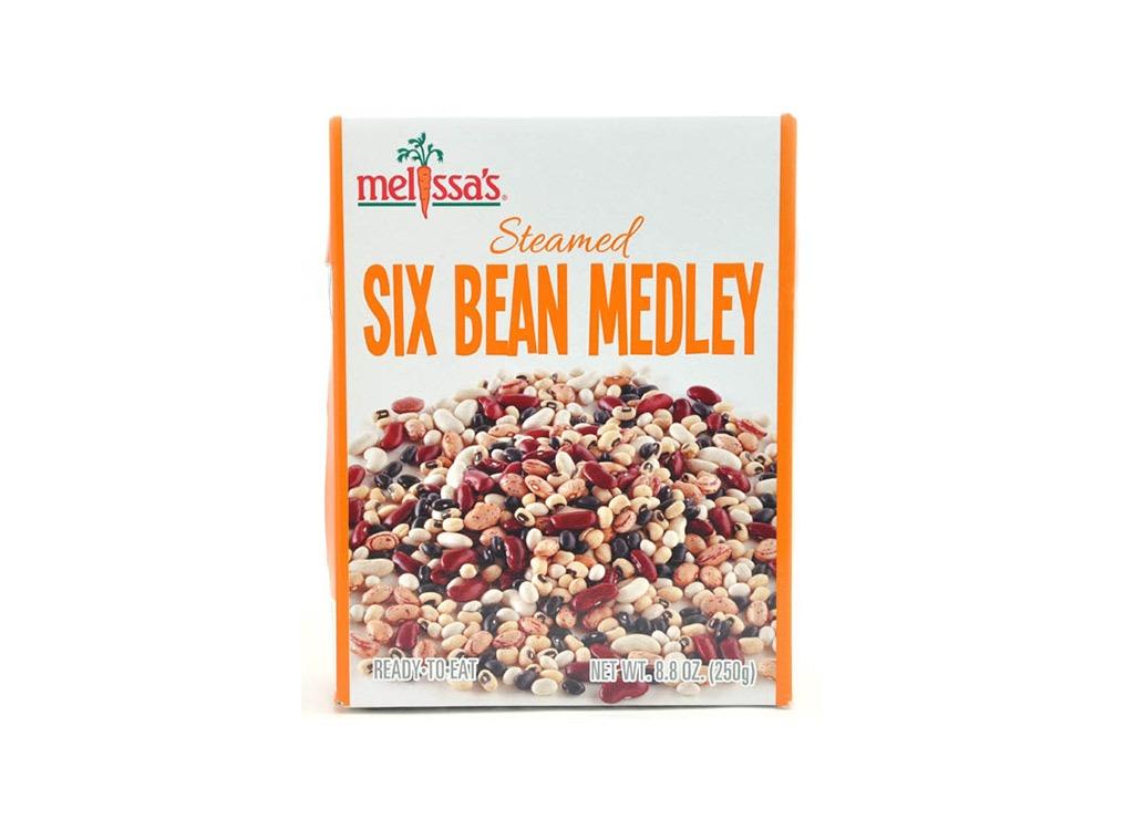 melissas steamed six bean medley