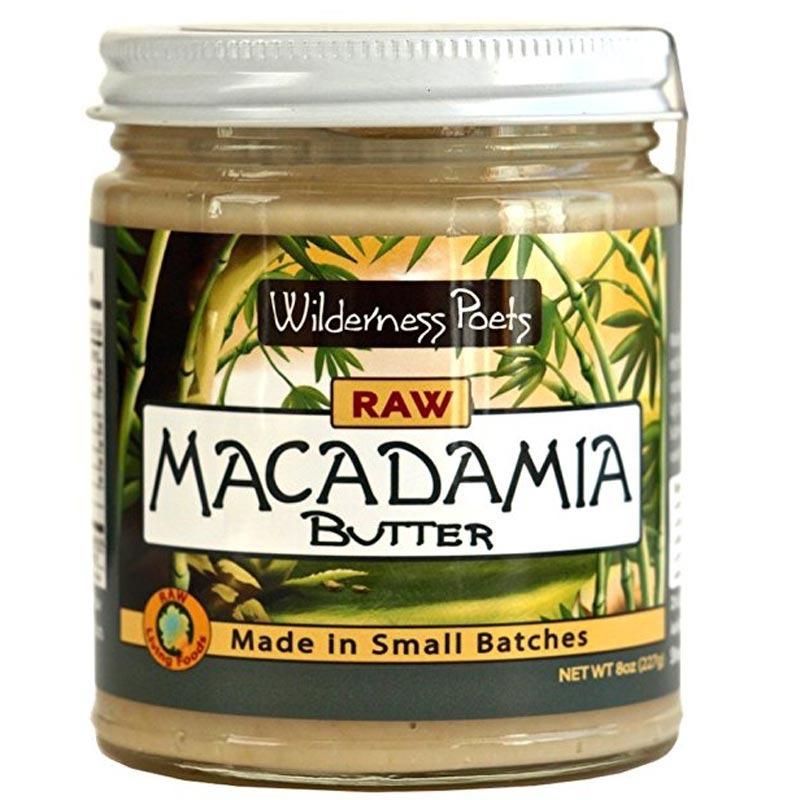 wilderness poets raw macadamia butter