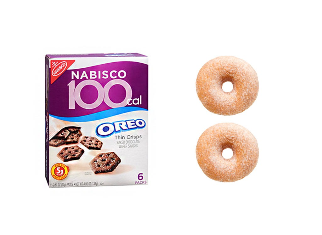 Foods worse than donut 100 calorie