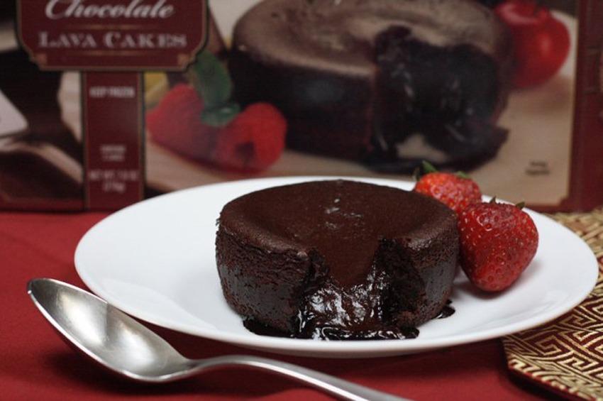 trader joes chocolate lava cake