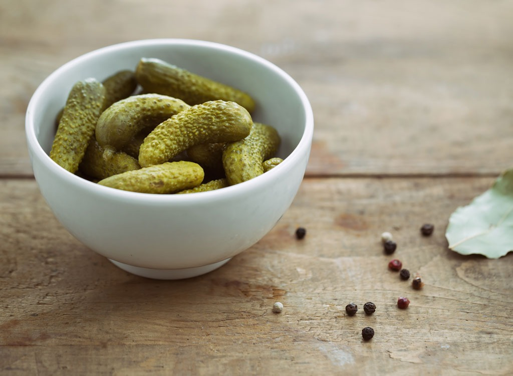 best hangover cure foods - pickles