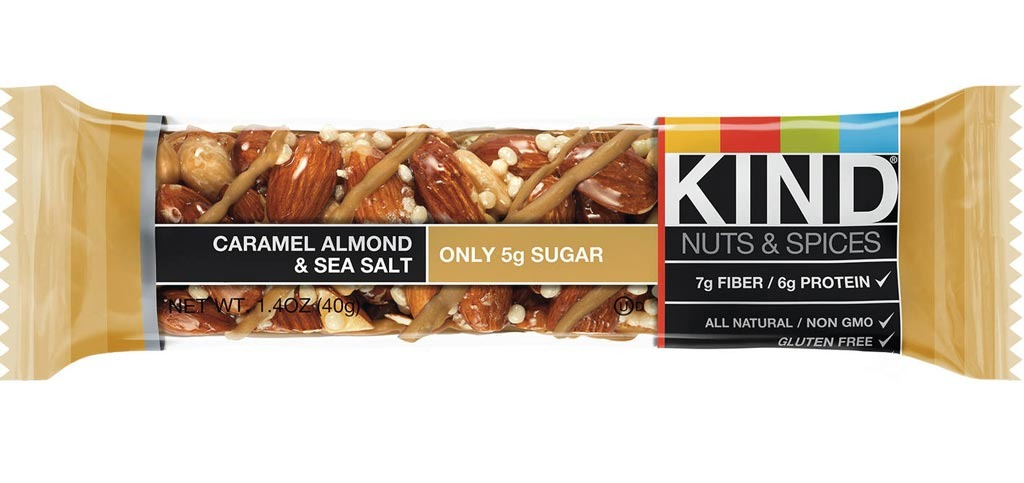 kind caramel almond & sea salt