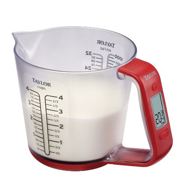 taylor digital measuring cup scale
