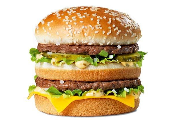 Fast food burgers ranked Big Mac