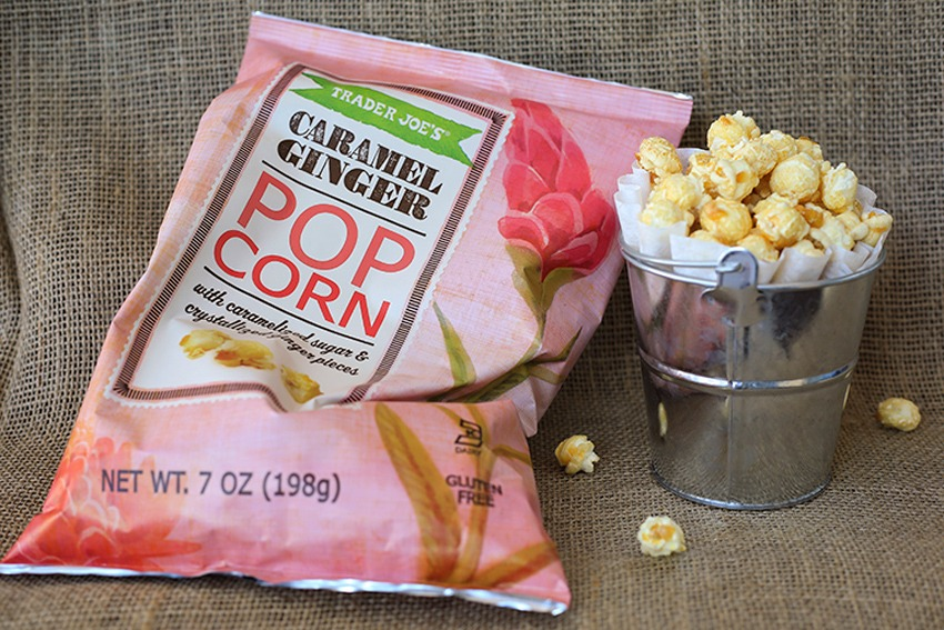 trader joes popcorn bag cup