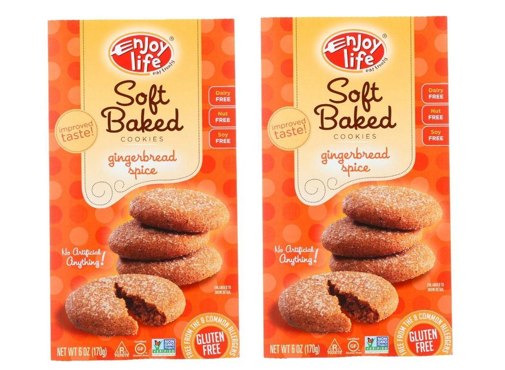 enjoy life foods gingerbread spice cookies