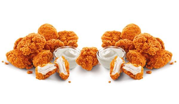 Sonic Spicy Jumbo Popcorn Chicken