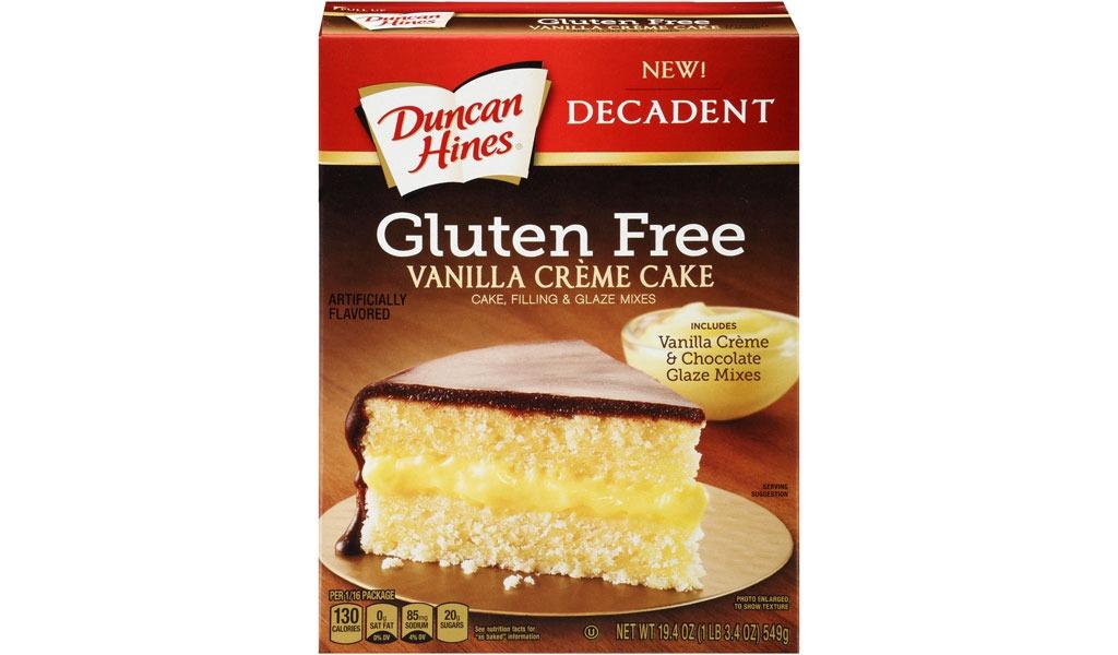duncan hines gf vanilla creme cake