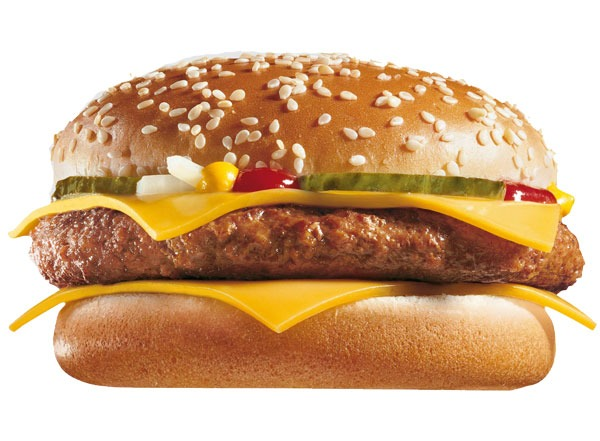 Fast food burgers ranked McDonalds Quarter Pounder with Cheese