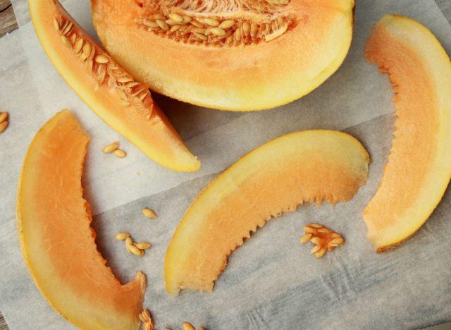 Sugary fruits ranked cantaloupe