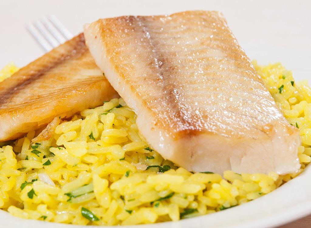 Fish ranked Tilefish