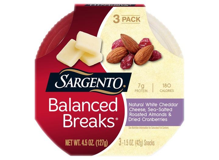 Sargento balanced breaks cheddar almond cranberry