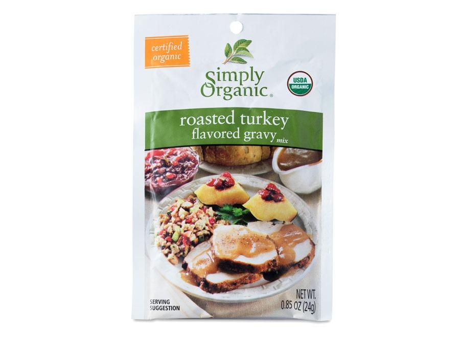 Simply Organic Roasted Turkey Gravy