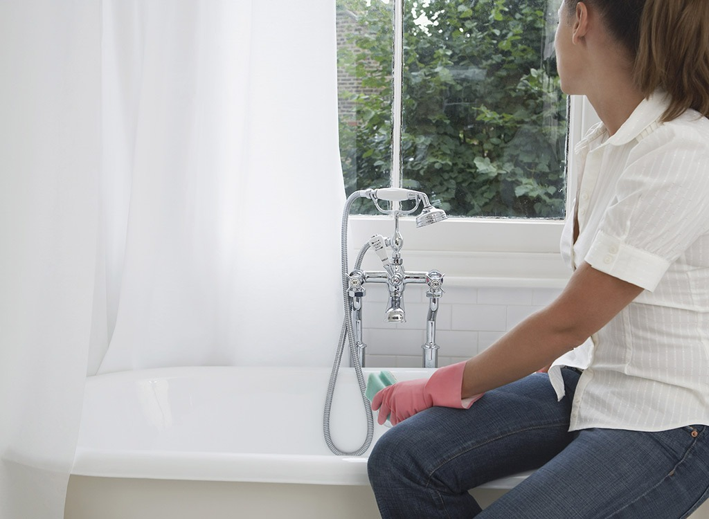 Cleaning tub - how to lose weight after 30