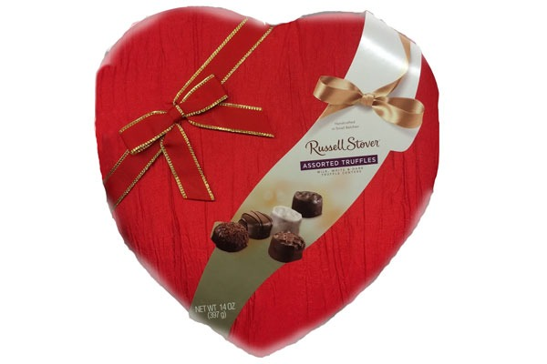 Valentines Candy Ranked Russell Stover Assorted Truffles