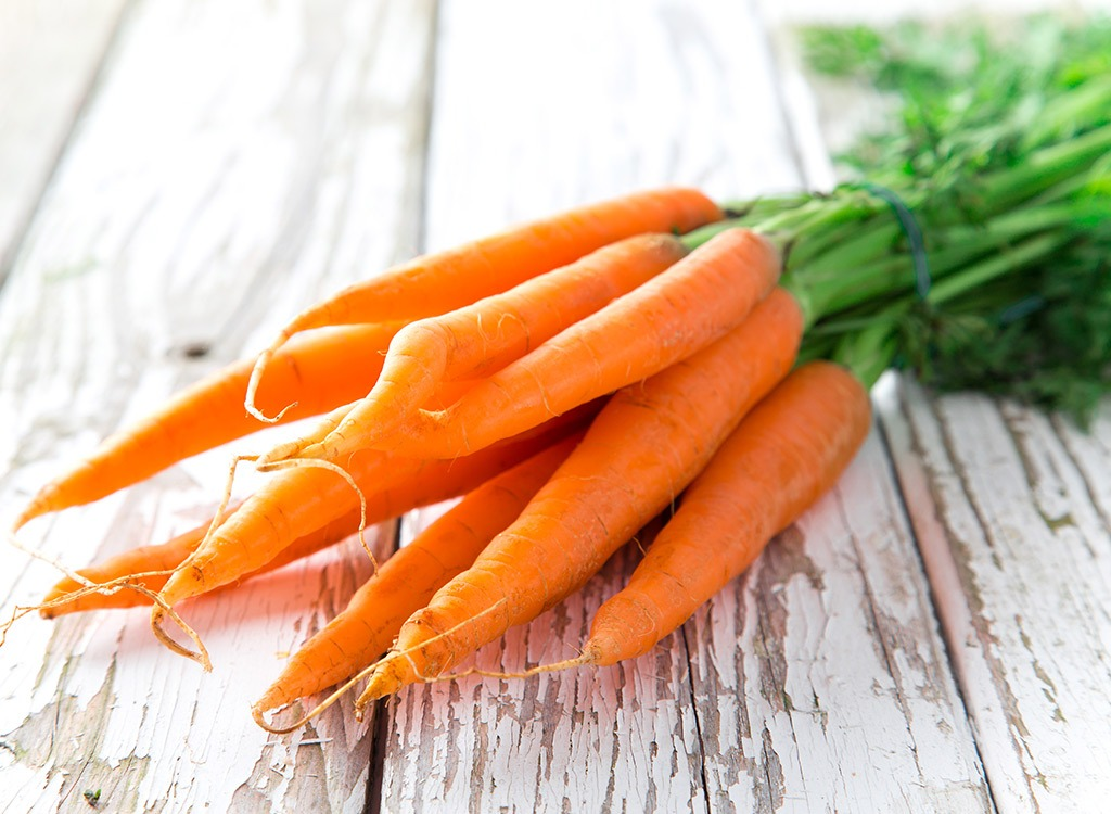 carrots on wood table
