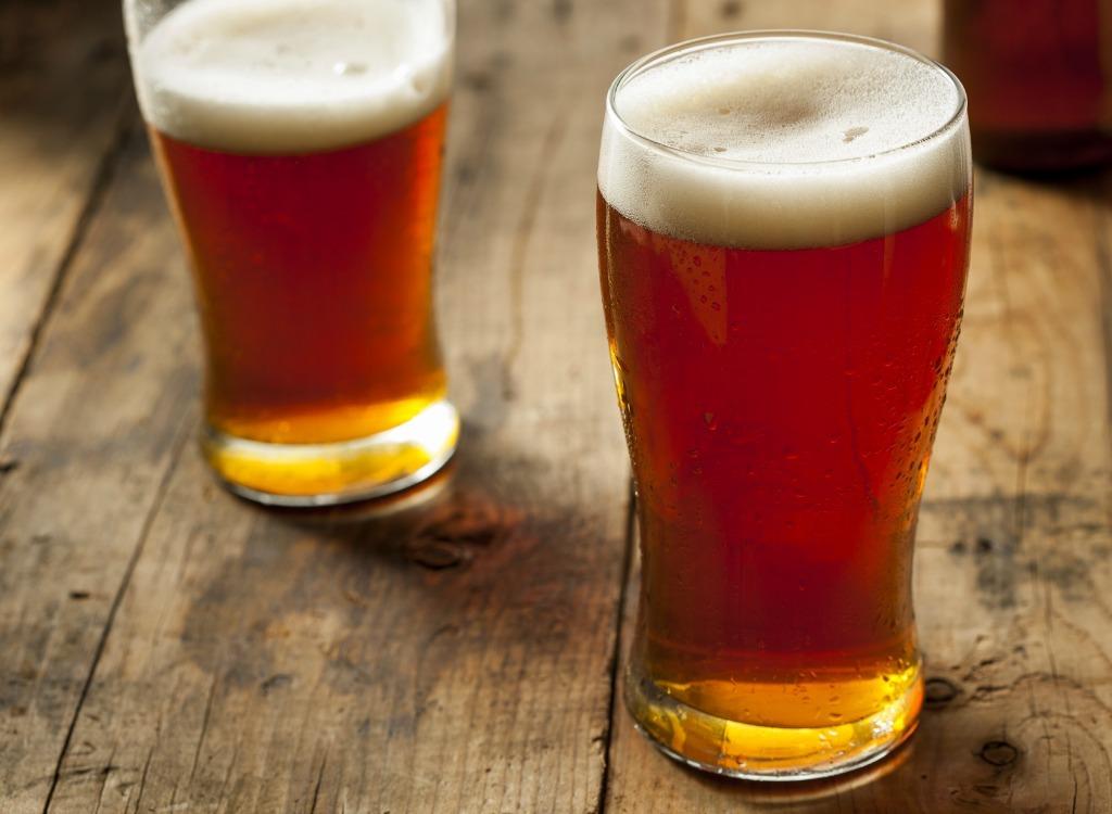 Beer mugs table
