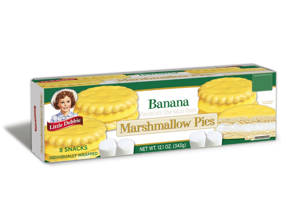 banana marshmallow pies