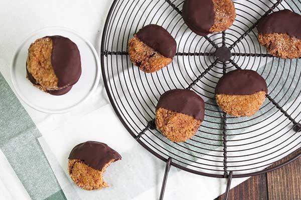 20. Chewy Chocolate Pumpkin Snickerdoodles