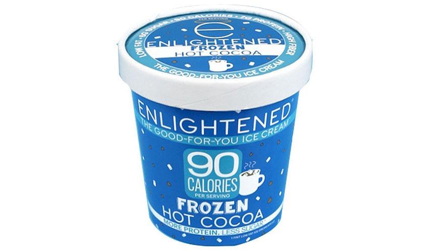 Enlightened Frozen Hot Chocolate