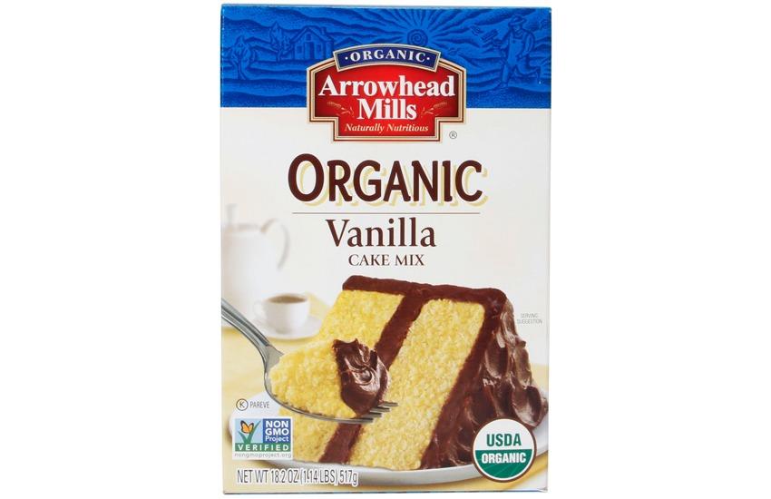 Arrowhead Mills Organic Vanilla Cake Mix