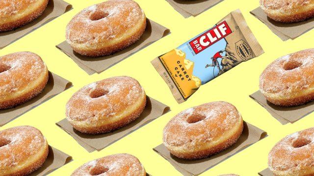 Health food donut lead