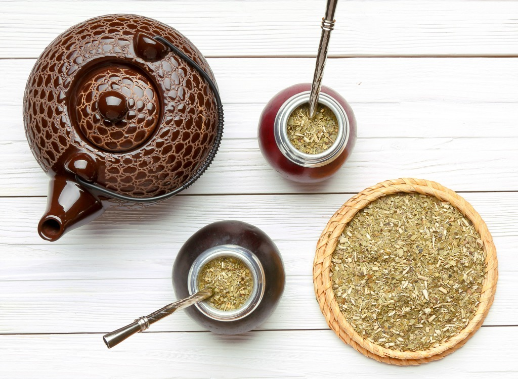 best teas for weight loss - mate