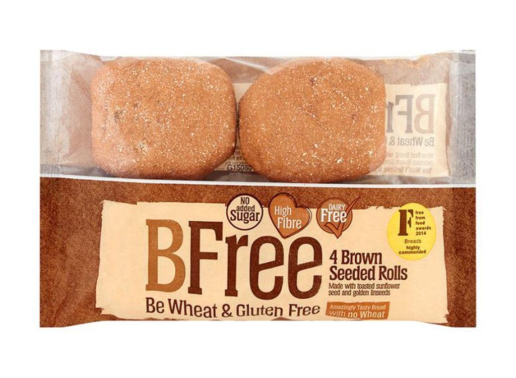 bfree brown seeded rolls