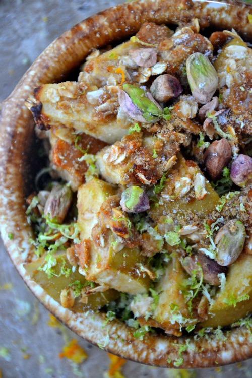 healthy dessert recipes - gluten free apple crisp