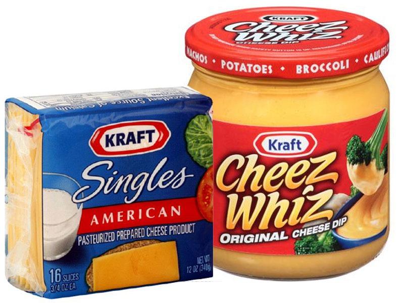 Untrustworthy foods processed cheese