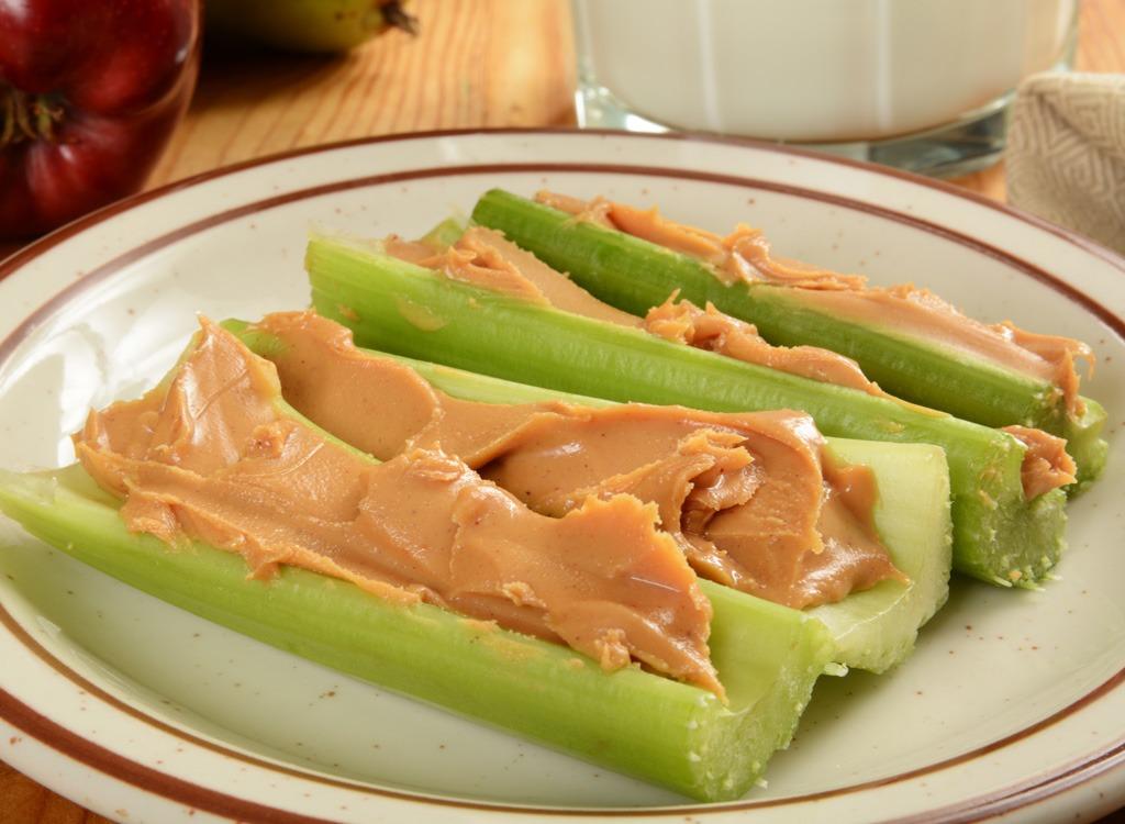Celery and peanut butter