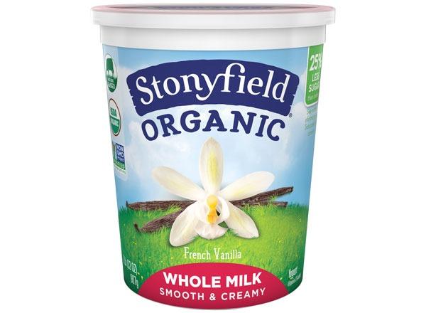 Stonyfield Organic Whole Milk Yogurt
