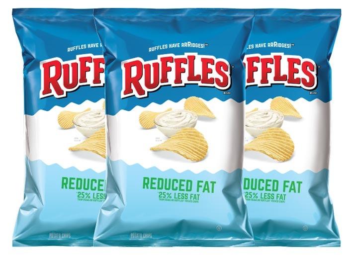 ruffles reduced fat