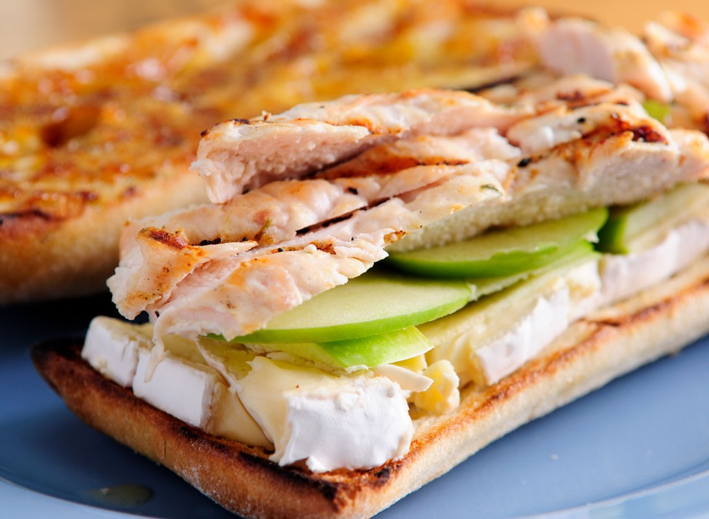 applie and brie panini