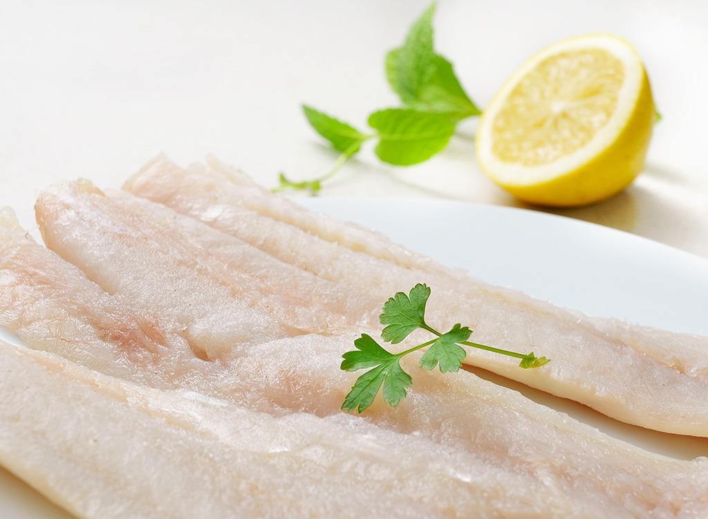 Fish ranked Atlantic Pollock