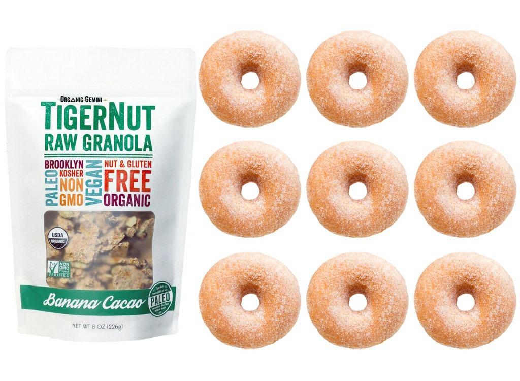 Foods worse than donut granola