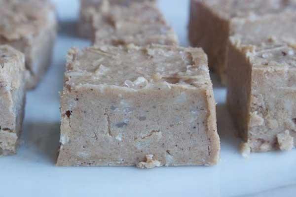 11. salted caramel fudge