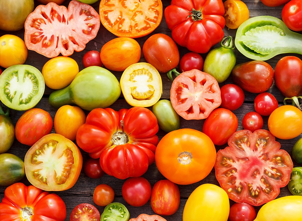 foods for better sex - tomatoes