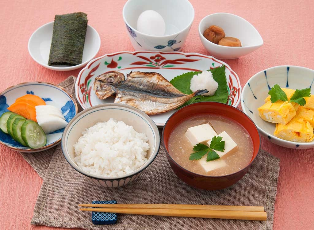 Japan breakfast