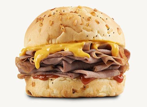 arbys beef cheddar sandwich