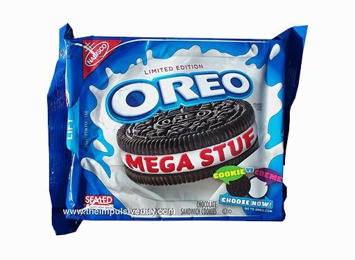 Oreo Mega Stuf Cookie