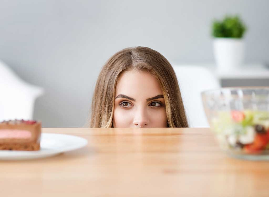 woman cravings and diet