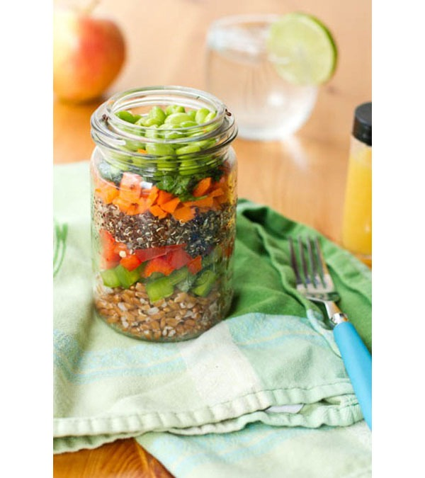 layered mason jar salads for weight loss