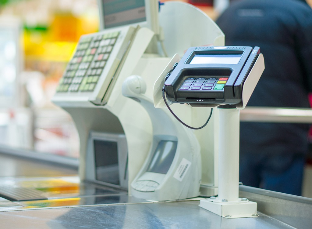 cash register grocery store