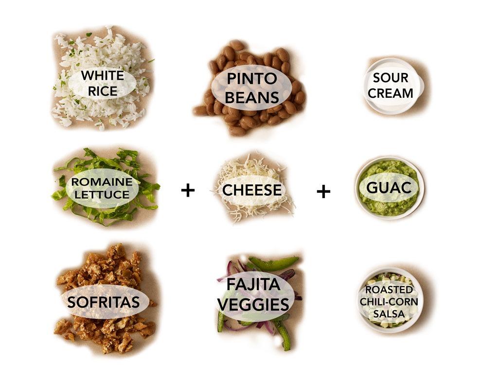 Sofritas Soft Flour Tacos