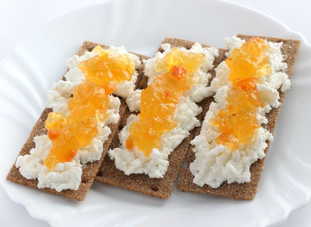 cottage cheese cracker