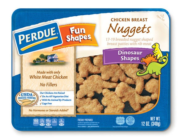 Perdue Fun Shapes Chicken Breast Nuggets Dinosaur Shapes