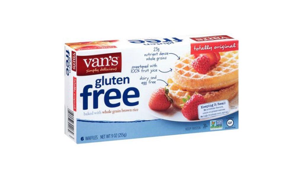 van's gf original waffles