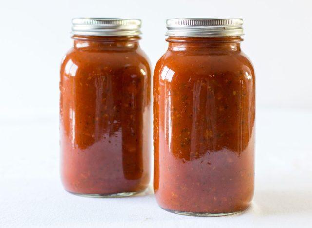 Jarred marinara sauce